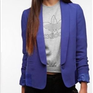 Urban Outfitters Cobalt Blue Blazer Size Small